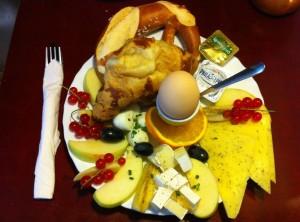 Brezelbar Frühstück