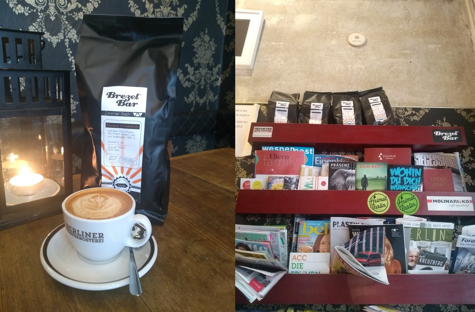 BrezelBar-Kaffee